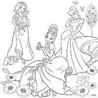 "Холст раскраска + краски 1 Вересня ""Принцессы"" 950708"