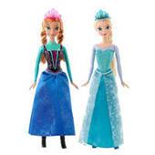 Сказочная Принцесса Дисней из м/ф Ледяное сердце Disney CJX74 2 вида