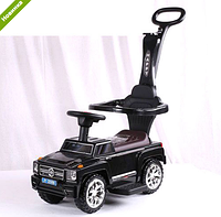 Машинка Каталка  музыкальная 2 в 1 Mercedes AMG M 3597B-2 черная ***