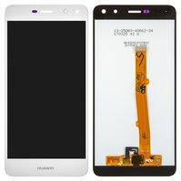 Дисплей для мобильных телефонов Huawei Y5 (2017), Y5 III, белый, с сенсорным экраном, original (PRC), MYA-U29