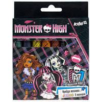 Крейда воскова Jumbo, 8 кольорів Monster High