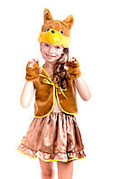 Детский новогодний костюм белочки