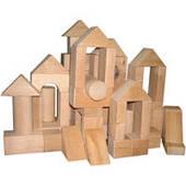 Конструктор Городок деревянный №3 70 ел. ВП-0033 Винни Пух