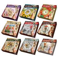 Набор для творчества Часы Decoupage Clock Danko toys DKС-01-06-10 5 видов