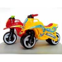 Каталка Мотоцикл с ручкой для переноски Kinderway 11-006