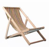 Шезлонг пляжный деревянный (бук)