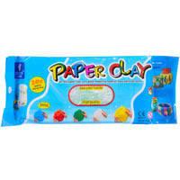 Цветная полимерная глина  Paper clay 11498-2 250 г, 4 цвета