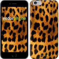 """Чехол на iPhone 6s Шкура леопарда """"238c-90-8079"""""""