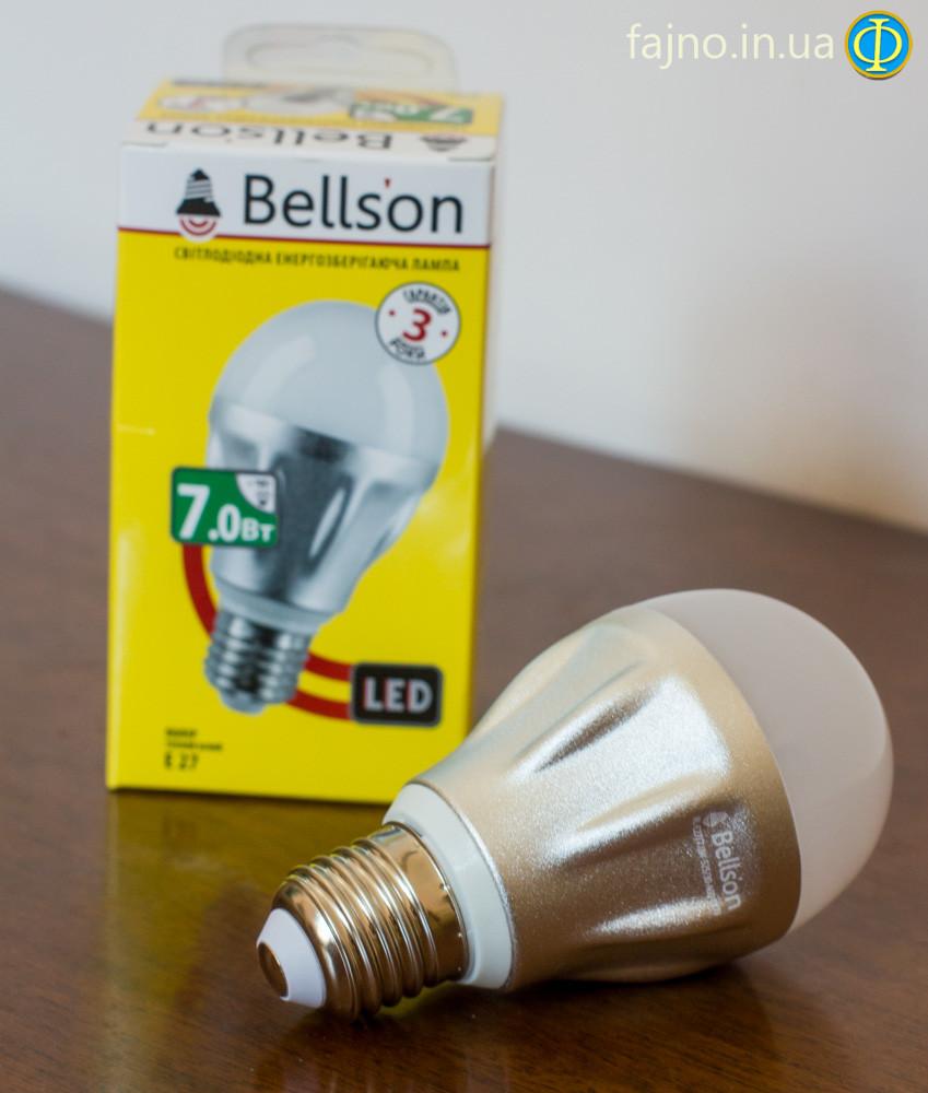 Светодиодная лампа Bellson 7 Вт цоколь Е27