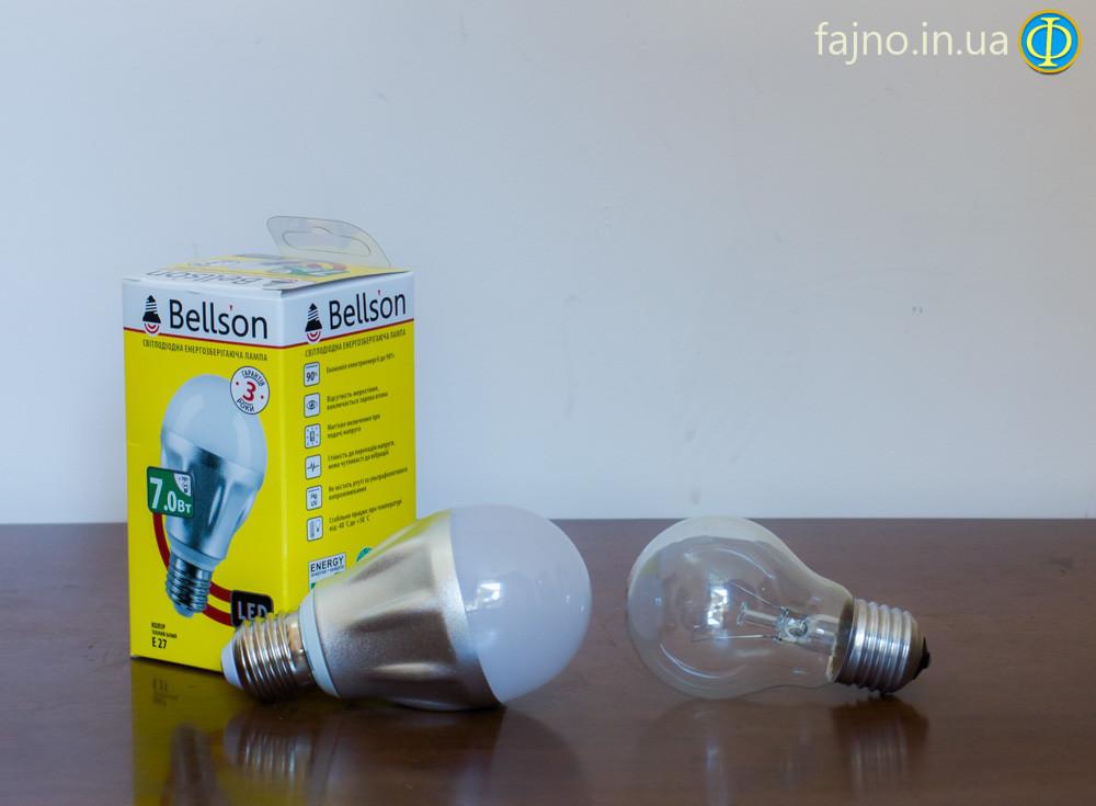 Светодиодная лампа Bellson 7 Вт