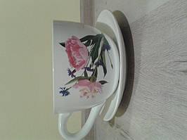 """Керамический вазон """"Чашка"""" для цветов 28*16,5*14 (2013104)"""
