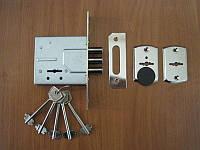 Замок врезной S.D. SR-500 Doganlar для метал. дверей Хром Doganlar