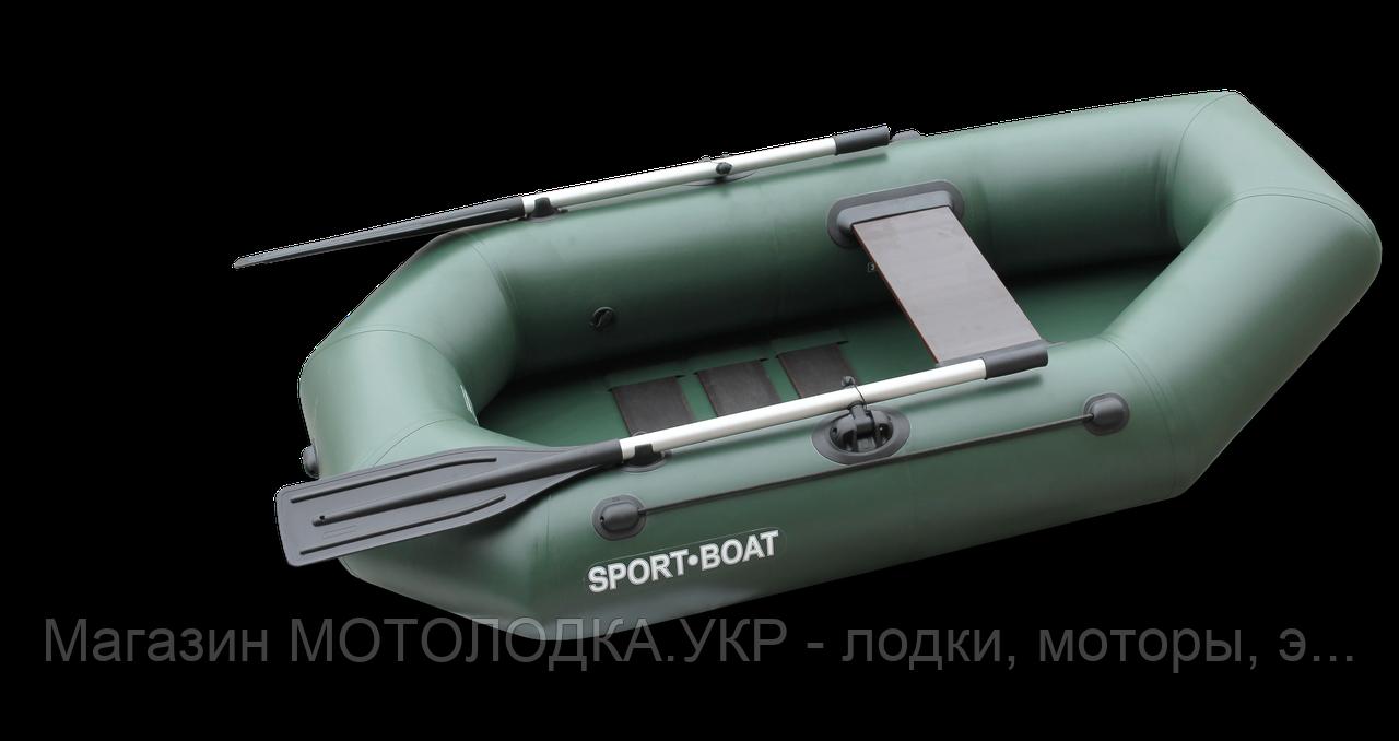 Лодка Sport-Boat CAYMAN C 220 LS (ПВХ: 5 слоёв, 850 гр\м²,  Ю. Корея)