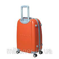 Чемодан Bonro Smile с двойными колесами (большой) оранжевый, фото 2
