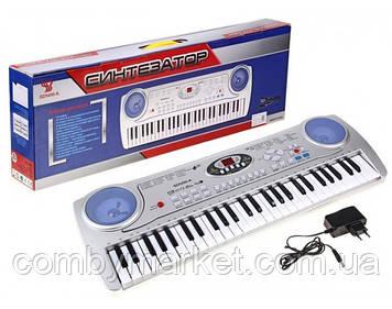 Детское пианино SD-5490 с микрофоном