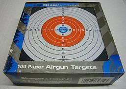 Мишени бумажные Stoeger 14х14, 100 штук комплект