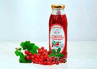 Натуральный соус из красной смородины с ягодами брусники (330 ml)