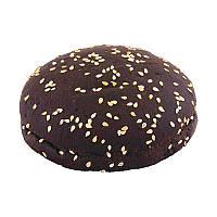 Булочка черная с кунжутом 70г (3шт)