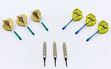 Дротики для игры в дартс цилиндрические BL-3501 Baili, фото 3