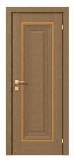 Двери межкомнатные с ПВХ покрытием LG Hausys Корея PATRIZIA basic molding глухое