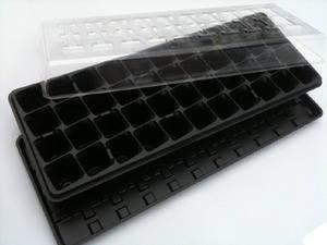Кассета для выращивания рассады (3 в 1)  на 40 ячеек - парник для рассады, фото 2