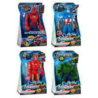 Фигурка Супергерой 3310/11/12/13 4 вида: Халк, Человек паук, Капитан Америка, Железный человек
