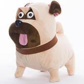Мягкая игрушка мопс Мел м/с Тайная жизнь домашних животных (30 см, Копиця 00112-71)
