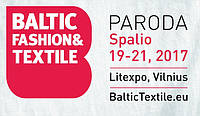 Международная выставка моды и текстиля 2017 Baltic Fashion & Textile Vilnius