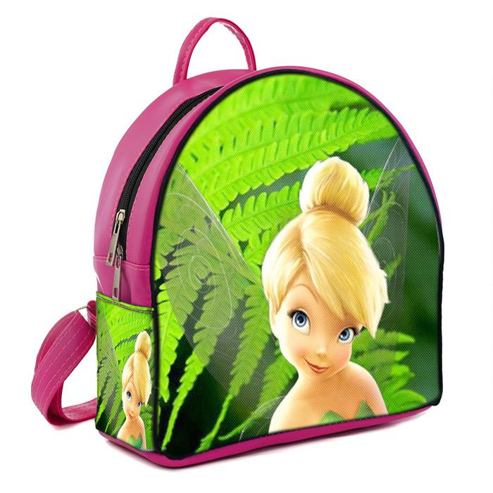 Розовые детские рюкзаки с принтом Фея Динь Динь