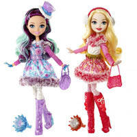 Кукла Сказочная героиня из м/ф Зачарованная зима  Ever After High DPP79 2 вида