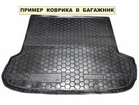 Полиэтиленовый коврик для багажника Nissan X-Trail Т31 (без органайзер) с 2007-