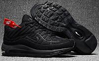 Мужские кроссовки Nike Air Max 98 Black Найк Аир Макс 98 черные
