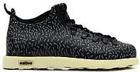 Мужские ботинки Native Fitzsimmons черные
