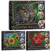 Алмазная живопись DIAMOND MOSAIC Danko toys DM-02-01,02,03  3 вида