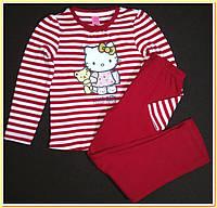 Пижама Hello Kitty для девочек 3-4 лет