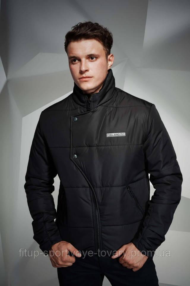 Куртка мужская Feel&Fly BUTTON BLACK