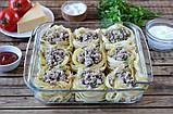 Макароны гнезда Tagliatelle Pasta all'uovo, 500 г, Италия, фото 8