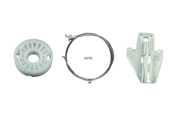 Ремкомплект механизма стеклоподъемника задней левой двери Skoda Fabia 1999-2008