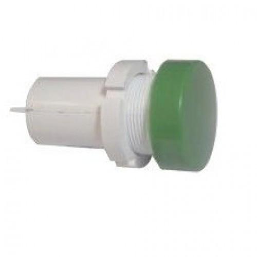 Лампа СКЛ14А-Л-2-28П Ø 22 Зеленая