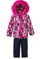Детские зимние тёплые комбинезоны-тройка для девочек 1-5 лет Микки S998