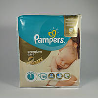 Подгузник Pampers premium care Newborn 1, 2-5 кг 22шт