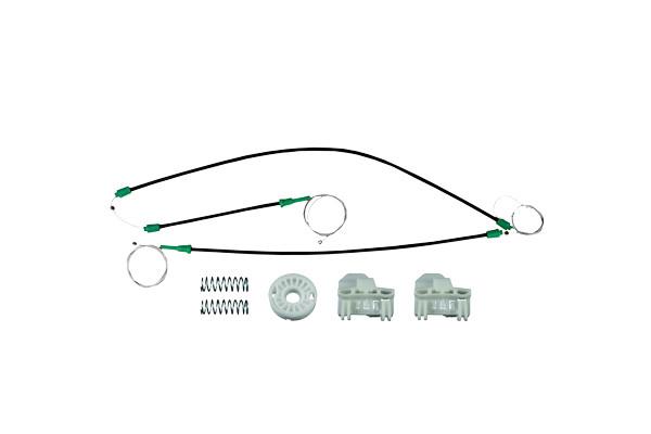 Ремкомплект механизма стеклоподъемника передней левой двери  Skoda Superb 2001-2009