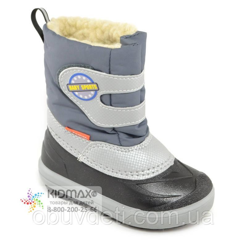Дитячі зимові черевики Demar 26-27р - 17,5 см Baby Sports