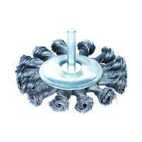 Щётка стальная дискообразная для дрели Sigma (75мм, 100мм)