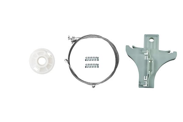 Ремкомплект механизма стеклоподъемника задней левой двери  Skoda Superb 2001-2009
