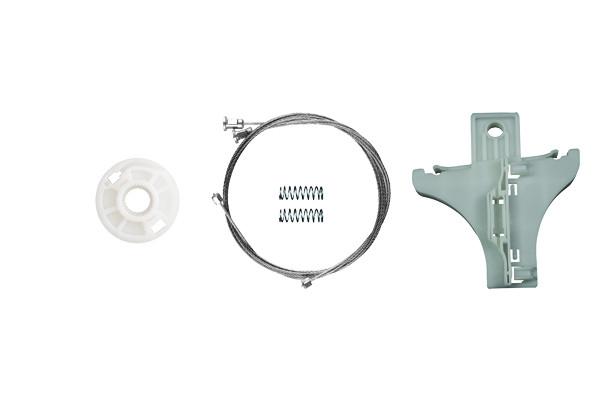 Ремкомплект механизма стеклоподъемника задней правой двери  Skoda Superb 2001-2009