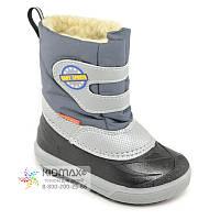 Зимові чобітки з натуральним хутром для 28-29р - 19см Demar Baby Sports