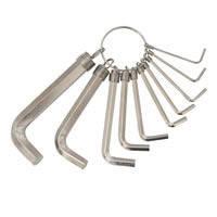 Ключи шестигранные Grad (2 вида 8ед, 1.5-8мм, 10ед, 1.5-10мм)