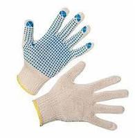 Перчатки трикотажные с точкой ПВХ