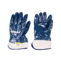 Перчатки трикотажные Sigma с полным нитриловым покрытием